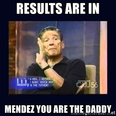 Maury Povich Father - Results Are In  Mendez You are the Daddy