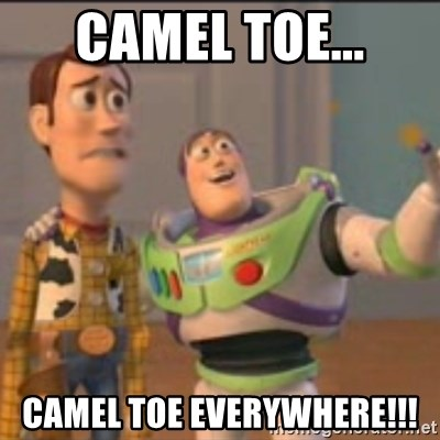 Buzz - Camel Toe... Camel Toe everywhere!!!