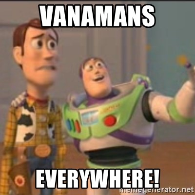 Buzz - Vanamans  Everywhere!