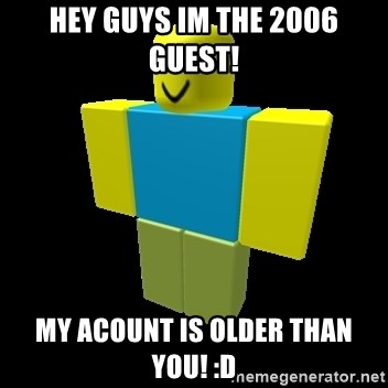 Roblox Guest Removed