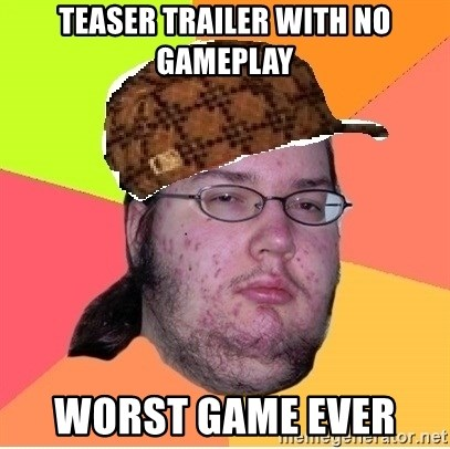 Scumbag nerd - TEASER TRAILER WITH NO GAMEPLAY WORST GAME EVER