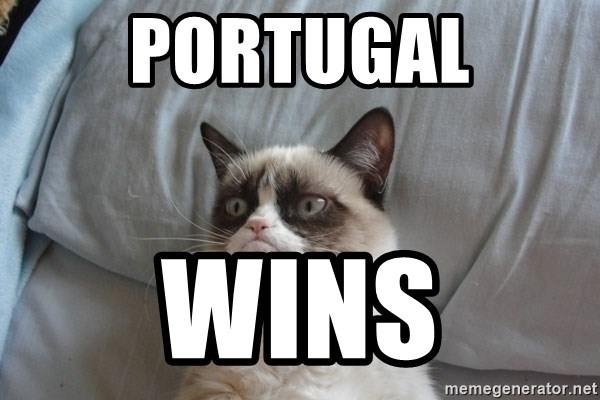 Grumpy cat good - PORTUGAL WINS