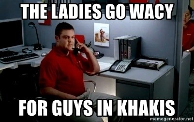 Jake From State Farm - The ladies go wacy For guys in khakis