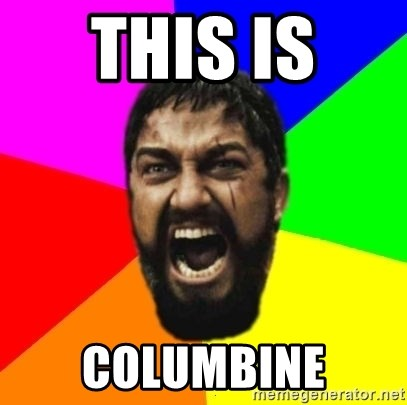 sparta - THIS IS  COLUMBINE
