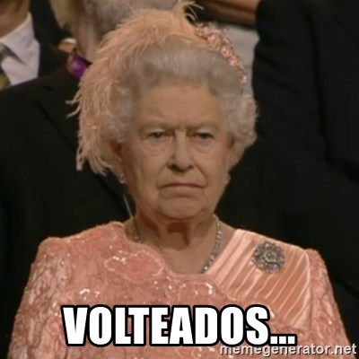 The Olympic Queen - volteados...