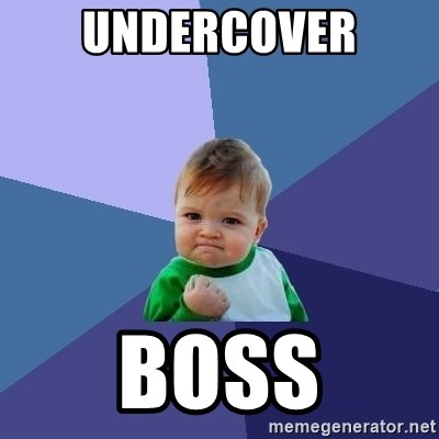 Undercover Boss Success Kid Meme Generator