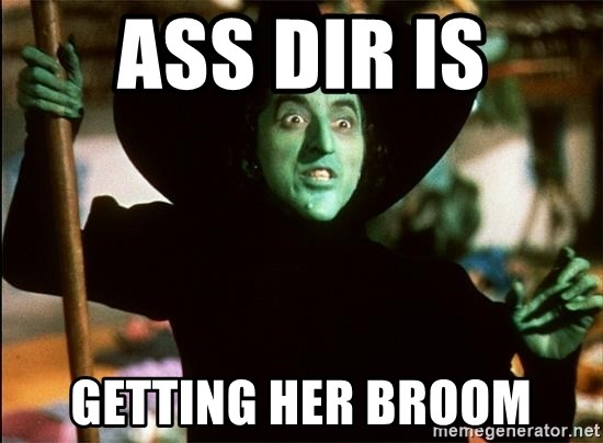 Broom in her ass quality porn