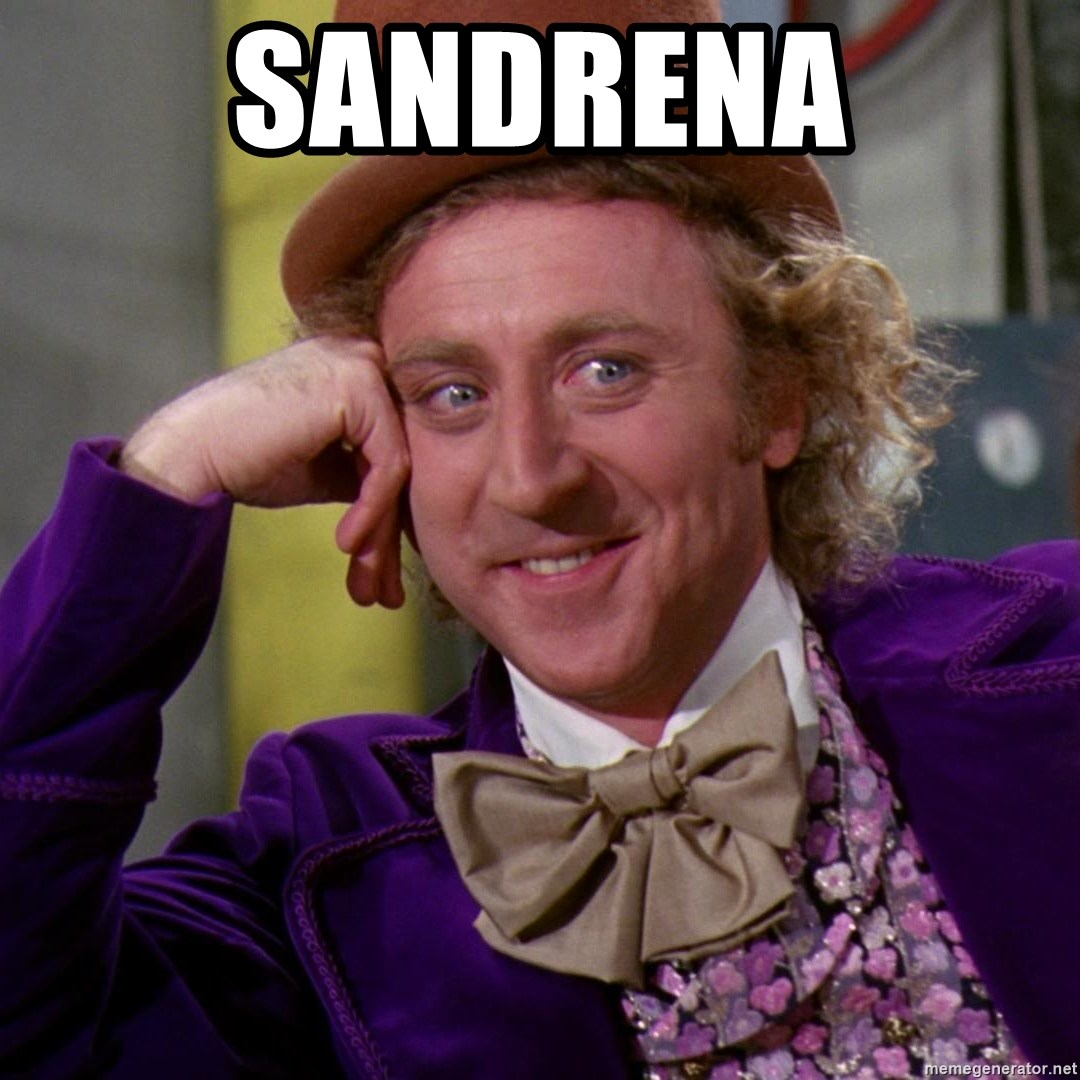 Willy Wonka - Sandrena