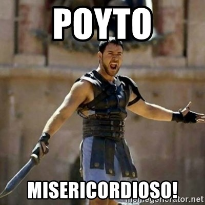 GLADIATOR - poyto misericordioso!