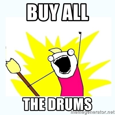All the things - BUY ALL THE DRUMS