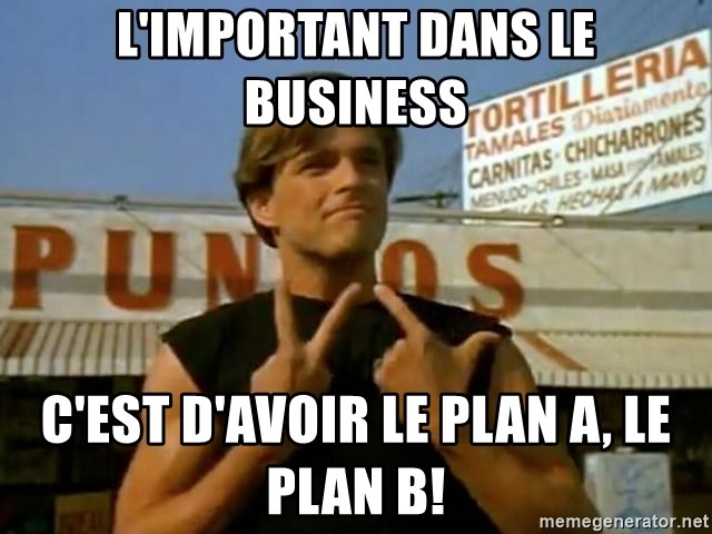 miklo blood in blood out  - L'important dans le Business C'est d'avoir le plan A, le plan B!