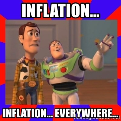 Everywhere - Inflation... Inflation... Everywhere...
