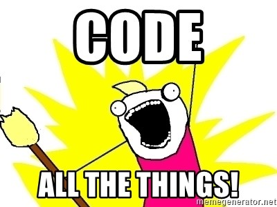 Code All The Things!