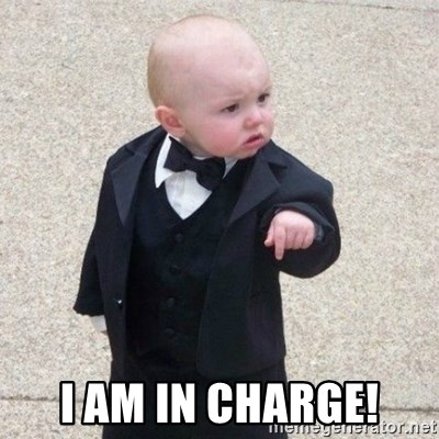 Mafia Baby - I am in charge!