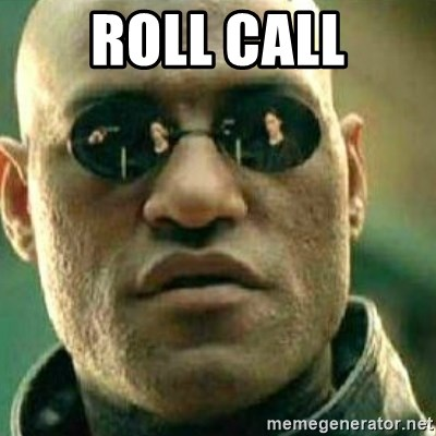 What If I Told You - Roll Call