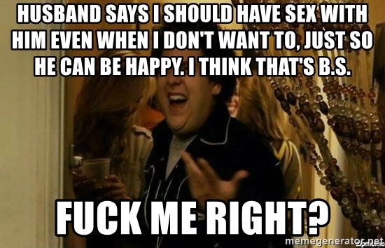 I want him to have sex with me