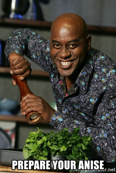 Ainsley Chef - prepare your anise