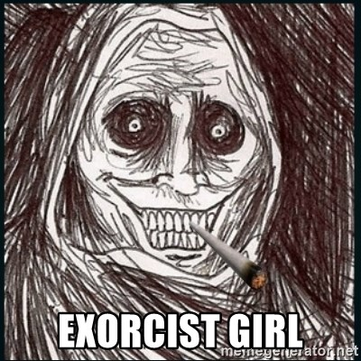 Good Guy Ghost  - exorcist girl