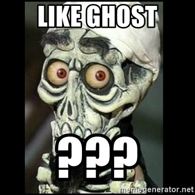 Achmed the dead terrorist - like ghost ???