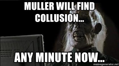 OP will surely deliver skeleton - Muller will find Collusion... any minute now...