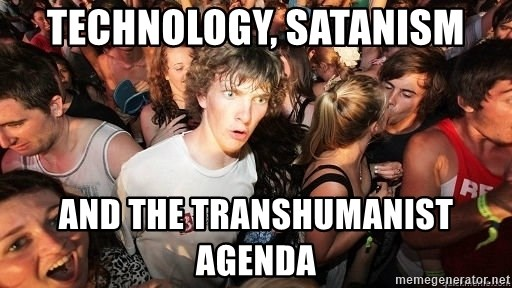Sudden Realization Ralph - Technology, Satanism and the Transhumanist Agenda