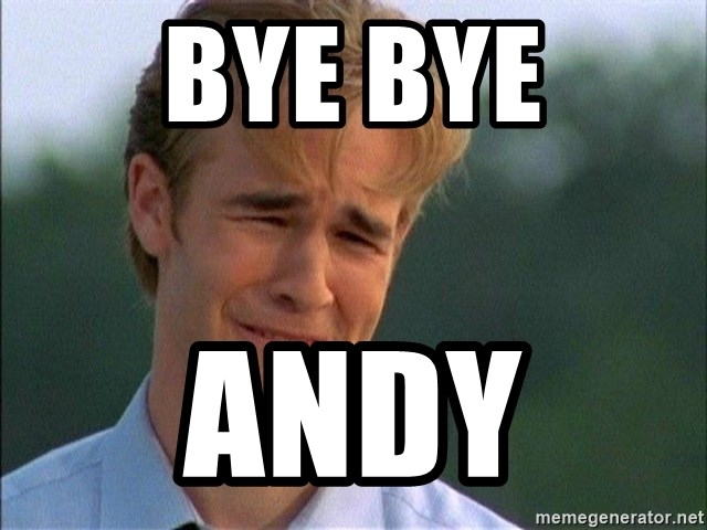 Dawson Crying - Bye bye Andy