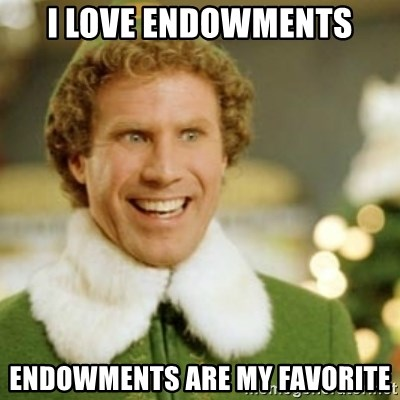 Buddy the Elf - i love endowments endowments are my favorite