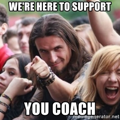 Ridiculously Photogenic Metalhead - We're here to support You coach