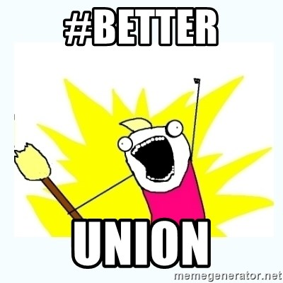 All the things - #Better Union