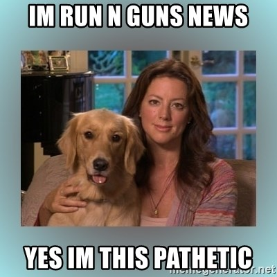 Sarah McLachlan - Im run n guns news Yes im this pathetic