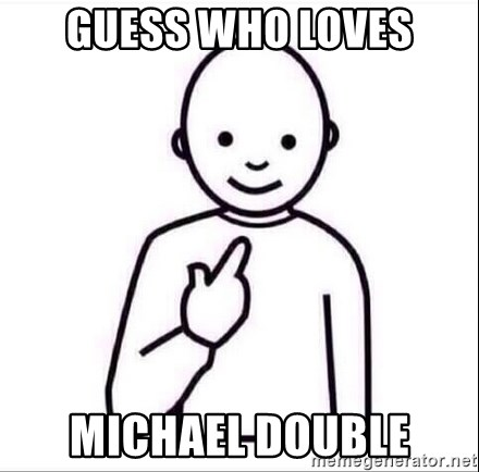 Guess who ? - Guess who loves Michael Double