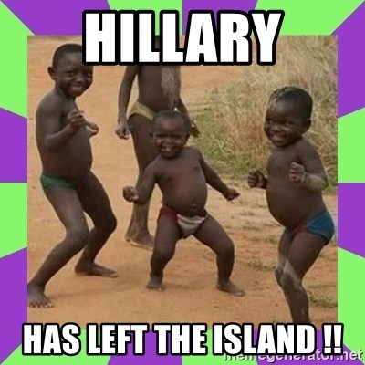 african kids dancing - HILLARY has left the island !!