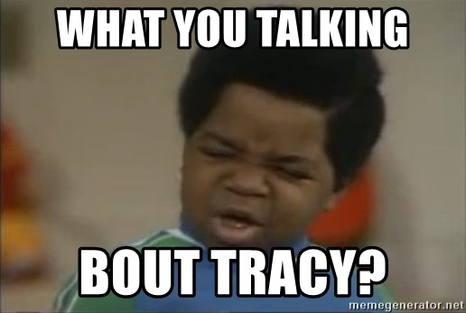 Gary Coleman II - What you talking  Bout Tracy?