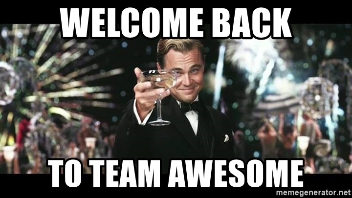 Leonardo Dicapriooo - Welcome Back to team awesome