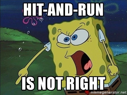 Spongebob Rage - HIT-AND-RUN IS NOT RIGHT