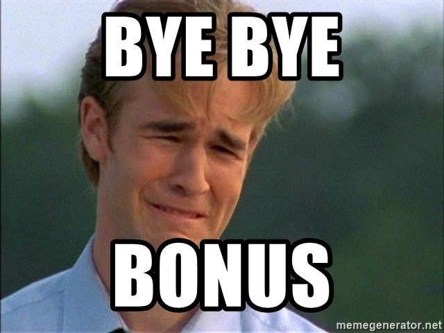 Dawson Crying - bye bye bonus