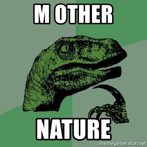 Philosoraptor - m other nature
