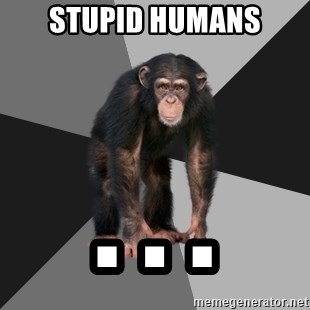 Drunken Monkey - stupid humans . . .