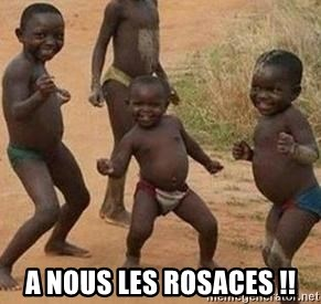 african children dancing - A nous les rosaces !!