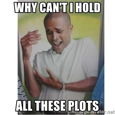Why Can't I Hold All These?!?!? - WHY CAN'T I HOLD ALL THESE PLOTS