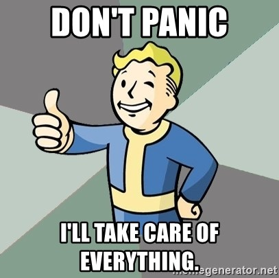 Fallout Boy - Don't panic I'll take care of everything.