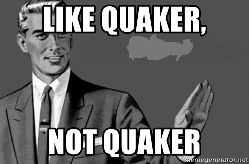 Correction Man  - Like Quaker, not Quaker