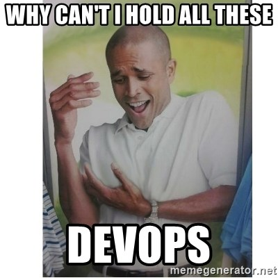Why Can't I Hold All These?!?!? - Why Can't I hold all these Devops