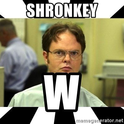 Dwight from the Office - Shronkey W
