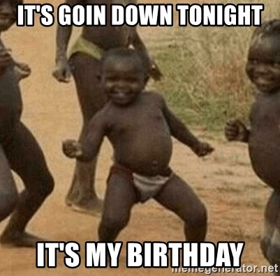 Success African Kid - IT'S goin down tonight It's My Birthday