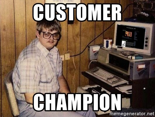 Nerd - customer champion