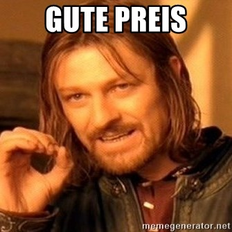 One Does Not Simply - gute Preis