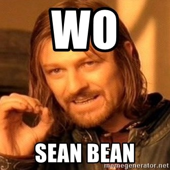 One Does Not Simply - Wo Sean Bean