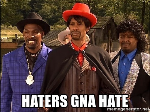 Dave Chappelle Player Haters - Haters gna hate