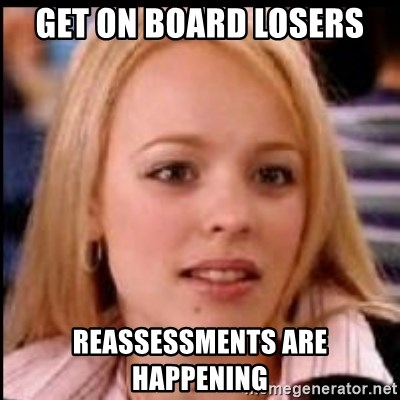 regina george fetch - Get on board losers Reassessments are happening